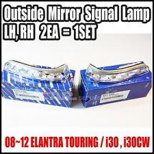 Hyundai 08-12 Elantra Touring i30 i30cw Outside Mirror Signal Lamp LH ,RH 1SET