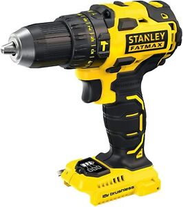 STANLEY FATMAX 18V Cordless Hammer Drill Driver,2Speed Motor,Compact,Tool Only