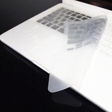 "FULL SILVER Keyboard Skin Cover Case for Macbook White 13"""