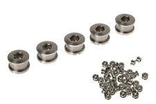 RockBros Titanium Crankset Chainring Bolts Nuts M8 fit Fixed Gear Track 100pairs
