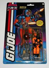 "1994 GI JOE BRIGADA ESPACIAL ""NOVA"", PISTOLERO ESPACIAL, NEW ON EXC CARD!"