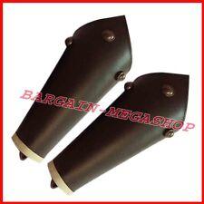 Ancient Arm Guard Bracer Leather Forearm Guards Medieval Roman Vambraces Pair