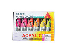 Holbein Hb Artist Acrylic Luminous Set/6 60Ml