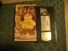 1997 The Hobbit Animated Movie VHS Video Movies on Parade - Lord of the Rings