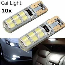 10pcs T10 194 W5W COB 2835 SMD 12LED Car CANBUS Bright License Plate Light Bulb