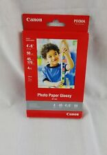 Genuine Canon 4x6 GP502 50 glossy photo paper        (D1)