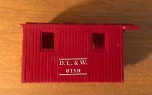 Lionel #6119, D. L. & W. Caboose, CAB ONLY, ca. 1955-56