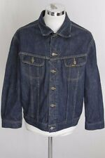 LEE XL giubbotto jeans denim jacket coat blouson E4058