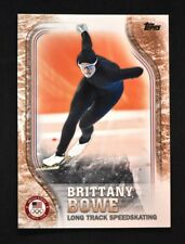 2018 Topps US Winter Olympics Bronze #US-37 Brittany Bowe