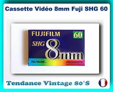*** UNE CASSETTE VIDEO FUJI SHG FORMAT 8MM / 60M - MADE IN GERMANY ***