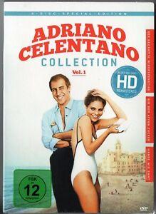 Adriano Celentano - Collection Vol.1 - 3 DVD - Neu und Ovp