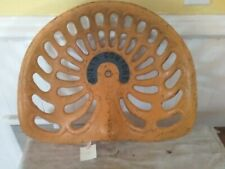 Vintage Solid Comfort Cast Iron Tractor Farm Implement Seat Antique