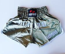 Sibiga Genuine Leather Light Thai pads Black//Green k1 Karate Muay Thai