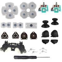 L1R1L2R2 Trigger Buttons 3D analog Joysticks Thumb Sticks Kit For PS4 Repair EH#