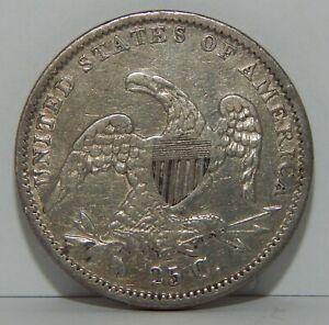 1835 - U.S. - Silver - Capped Bust Quarter - 25¢