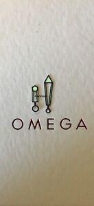 Original OEM Omega Hand, Hour & Minute, SS Skeleton,Lume,Cal 1120, 1503, 1502