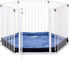 Curly - parc, barrière de sècurité et barrière de cheminiée fonctionnels 3 en 1