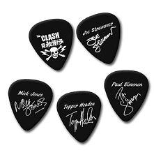 The Clash signature print plectrum guitar pick picks medium 0.71mm black