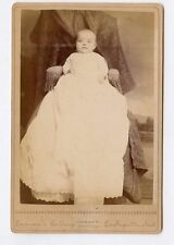 Cabinet Photo - Lafayette, Indiana - Young Baby, Long Gown - Lawsons Gallery