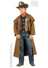 Kids Brown Cowboy Sheriff Costume