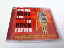 """MIGUEL RIOS """"Y LAS ESTRELLAS DEL ROCK LATINO"""" CD 12 TRACKS MANOLO GARCIA SABINA"""