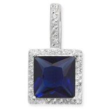 Collares y colgantes de joyería con gemas zafiro zafiro