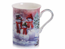 Christmas Snowman Mug Fine Bone China - New & Boxed