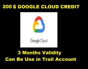 Google Cloud Platform 200$   GCP 200 Credit Code   GCP Credit