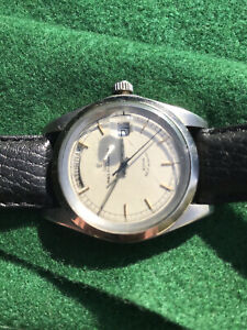 ROLEX TUDOR Oyster Prince Date Day Jumbo 38mm case Circa late 60's Project Watch