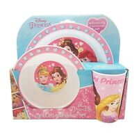 Princess Forever 3 Pcs Dinner Set Brand New Gift