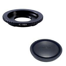 K&F adapter with lens cap  for C mount lens to Sony E NEX  a5000  A7II,A7R
