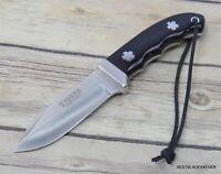 JOKER KNIVES MADE IN SPAIN FIXED BLADE HUNTING KNIFE BUFFALO HORN HANDLE