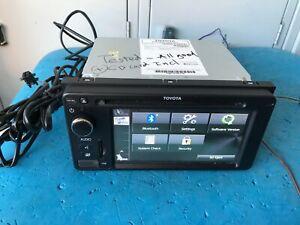 GENUINE TOYOTA, # 100186, RADIO CD DVD USB BLUETOOTH HEAD UNIT, PZQ60-00527.