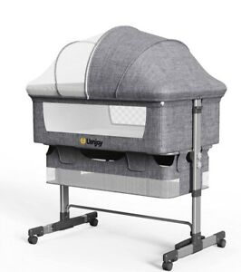 B08P1MPZLHUenjoy Baby Bassinet, Bedside Sleeper,Foldable Baby Bed to Bed, Adjus