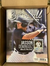 New August 2020 Beckett Baseball Card Price Guide Magazine, Jasson Dominguez