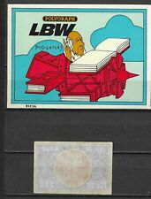 MATCHBOX LABELS-GERMANY. Diogenes and polygraph, packet size label, Riesa