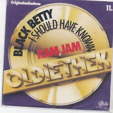 Ram Jam-Black Betty vinyl single