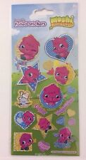 BNIP Re-usable Foiled Cute Moshi Monster Sparkly Stickers Childrens Card Crafts