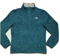 The North Face Womens Medium Teal Osito Full Zip Fleece Jacket M