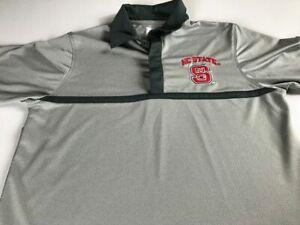 NC State Wolfpack Polo Shirt Mens Small Dri-Fit Golf Student Alumni Carolina St