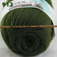 Sale 1 Skein x 50gr LACE Soft Acrylic Wool Cashmere Shawl Hand Knitting Yarn 12