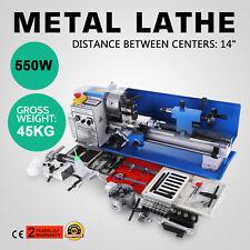 Précision Mini tour à métaux Bleu Marque Nouvelle Metal Lathe 550W Affichage
