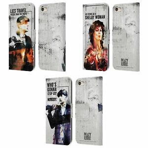 PEAKY BLINDERS CHARACTER ART LEATHER BOOK WALLET CASE FOR APPLE iPOD TOUCH MP3