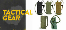 Tactical MOLLE PALS Hydration Pack Carrier w/ 2.5 Liter Water Bladder
