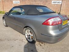 03-12 Saab 9-3 Convertible Roof / Hood with frame Glass Complete Cabriolet