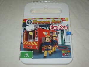 Fireman Sam - Fun Run - Region 4 - VGC - DVD