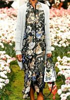 Tory Burch Agnes Embellished Floral Maxi Long Gown Jacket Runway Dress 0 2 / XXS