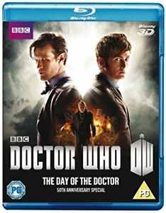 Doctor Who: The Day of the Doctor – 50th Anniversary Special [Blu-ray 3D] [DVD]
