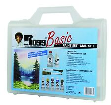 Bob Ross Basic Landscape Painting Set - latest style with carry case