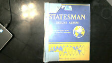 WORLDWIDE COLLECTION IN STATESMAN ALBUM, MINT/USED